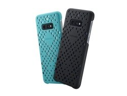 Etui Samsung Pattern Cover Zielony/Czarny do Galaxy S10e (EF-XG970CBEGWW)