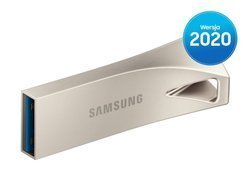 Pendrive Samsung USB 3.1 BAR Plus Silver 128GB (MUF-128BE3/APC)