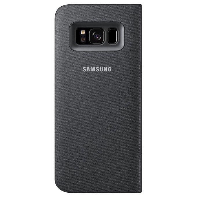 Etui LED View cover do Galaxy S8 Czarne (EF-NG950PBEGWW)
