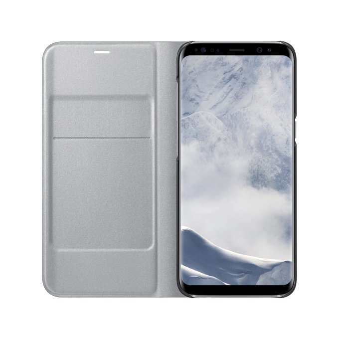 Etui LED View cover do Galaxy S8 Srebrne (EF-NG950PSEGWW)