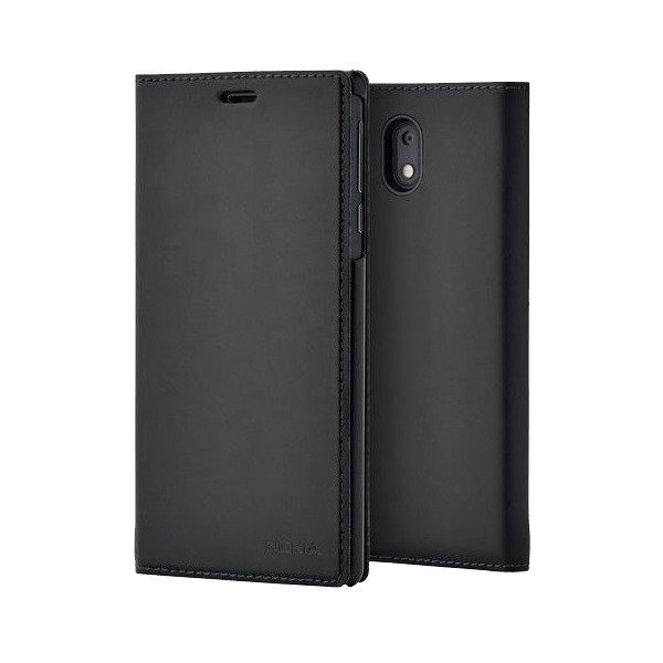 Etui Nokia Slim Flip Cover CP-303 Czarne do Nokia 3