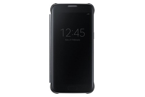 Samsung Etui Clear View Cover Czarne do Galaxy S7 EF-ZG930CBEGWW